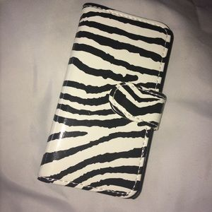 Zebra Print iPhone 5/5s Magnetic Case